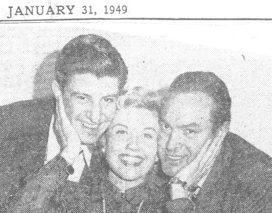 Farrell & Hope with Doris Day